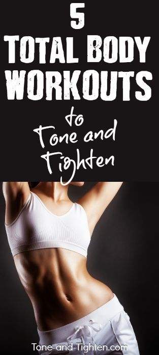 5 total body workouts to tone and tighten