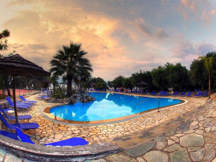 Florida Blue Bay Resort pool. Photo by Catherine Kõrtsmik.