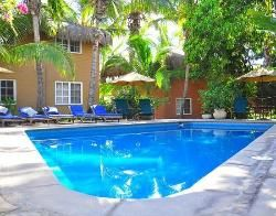 4 months until I get to travel to Mexico with my wonderful man! This is a picture of the pool at the place we're staying at =]