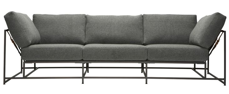 Buy City Gym Sofa by Stephen Kenn - Made-to-Order designer Furniture from Dering Hall's collection of Contemporary Industrial Sofas & Sectionals.