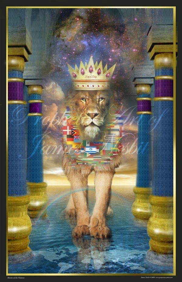 james nesbit artwork | The King of Kings The Prophetic Art of James Nesbit | Art