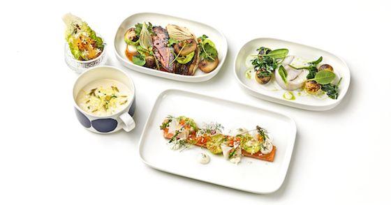 Finnair 100 Years Menu #finnair #businessclass #inflightmenu #food