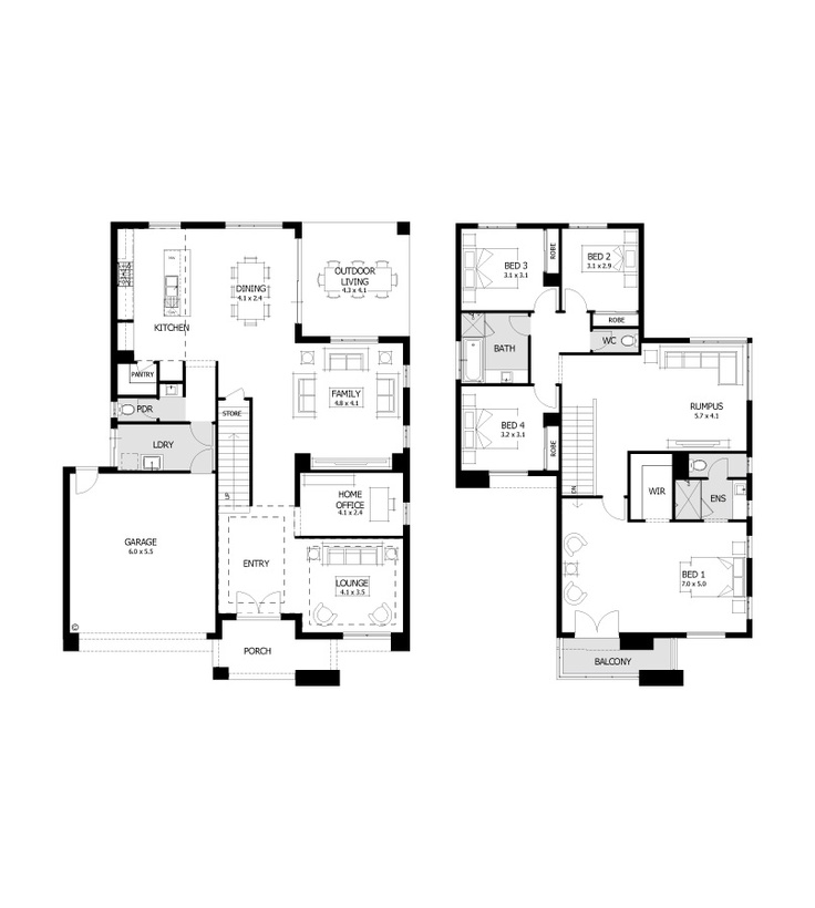 Not a bad floor plan house plans pinterest Bad floor plans examples