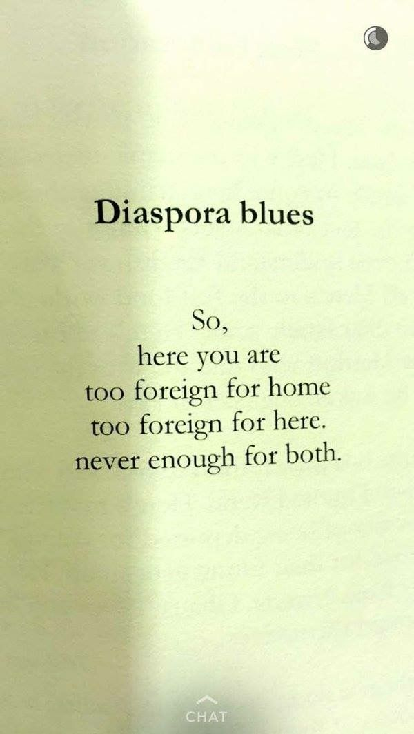 Diaspora blues  By: Ijeoma Umebinyuo