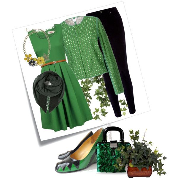 A fashion look from December 2014 featuring Louche dresses, Diane Von Furstenberg jackets and Monsoon pants. Browse and shop related looks.