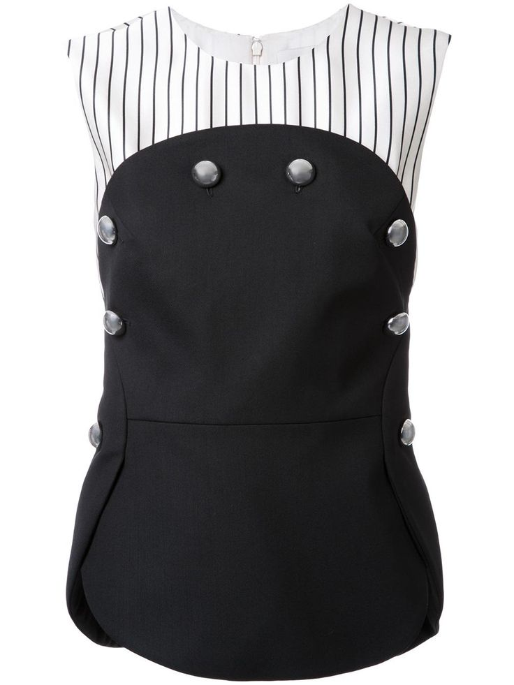 Monse блузка с декоративными пуговицами