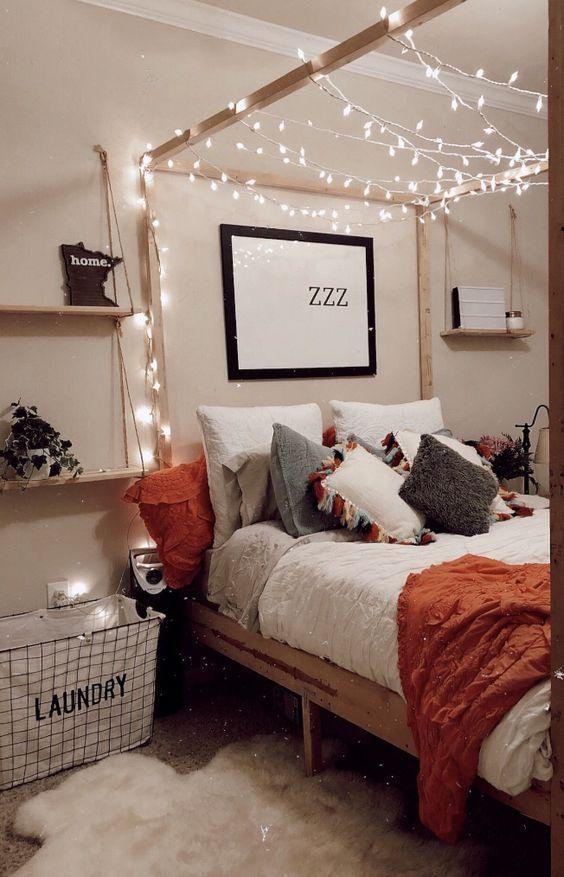 Schlafzimmer Dekor Cocooning Schlafzimmer