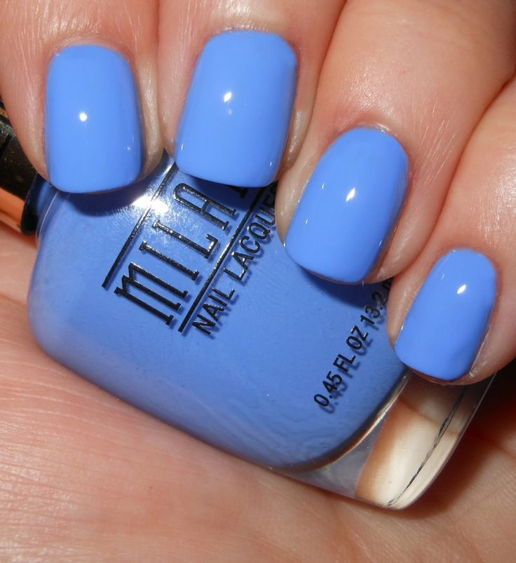Imperfectly Painted: New Milani Gold Label Cremes (Power Periwinkle)