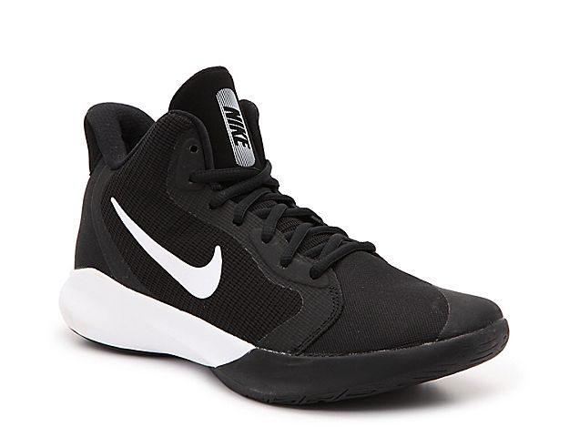 Nike Air Precision Iii Basketball Shoe Mens Girls Basketball Shoes High Top Basketball Shoes Nike Volleyball Shoes