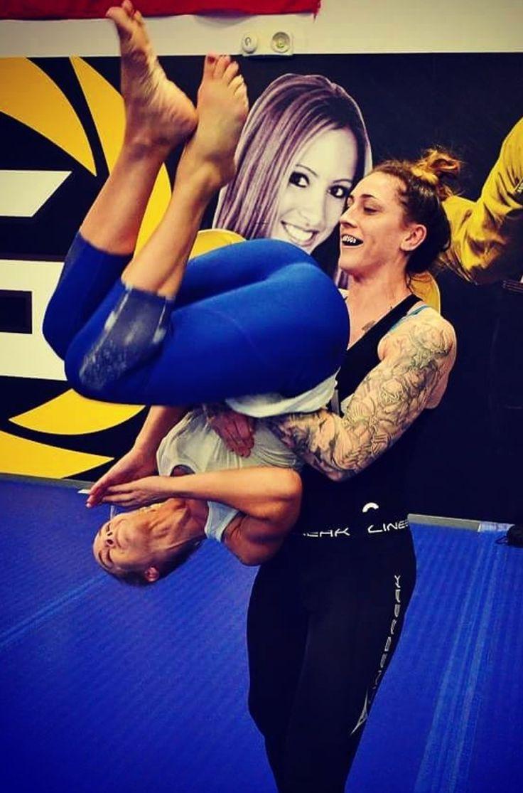 Besties Laura Sanko & Megan Anderson | Mixed Martial ...