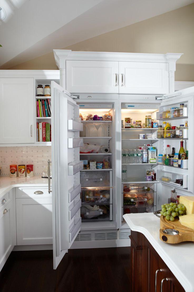 Best 25+ Custom kitchen cabinets ideas on Pinterest | Custom cabinets, DIY  hidden kitchen appliances and Paper towel holder kitchen