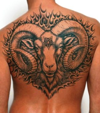 1 Aries Zodiac Sign Tattoo Designs