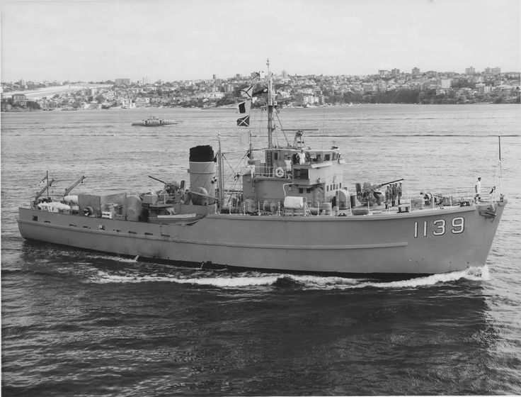 John's Navy, Marine, and Military News- HMAS Hawk (M 1139) (formerly HMS Somerlyton) was a Ton-class minesweeper operated by the Royal Navy and the Royal Australian Navy (RAN). The minesweeper was built for the Royal Navy as HMS Gamston, but renamed HMS Somerlyton before entering service. She was sold to Australia in 1961, and commissioned as HMAS Hawk in 1962. The ship operated through the Indonesia-Malaysia Confrontation, and was decommissioned in 1972.