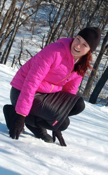 Warm insulated skirts