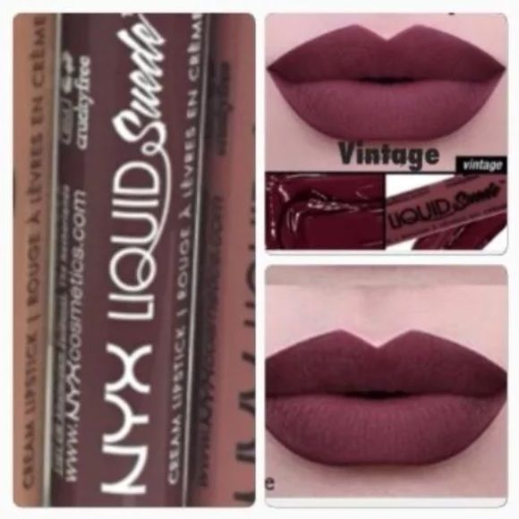 NYX VINTAGE LIQUID SUEDE LIPSTICK Brand new full size sealed tube of NYX Liquid Suede Lipstick. Very hard to find in stock. Usually sold out. The color is Vintage ❤️ NYX Makeup Lipstick