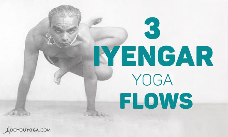 Not quite sure how to sequence poses in Iyengar yoga? Here are 3 Iyengar yoga flows you can try with a focus on intention. Check them out here.