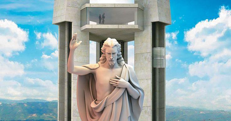 """""""La pelea que se ha armado por cuenta del monumento en Santander del Ecoparque Cerro del Santísimo, demuestra que cuando se enfrenta la libertad y la religión se encienden las más profundas pasiones. [...] la Corte Constitucional, falló a favor del proyecto pues consideró que la estatua """"no representa una religión sino la idealización de un ser superior""""...""""."""