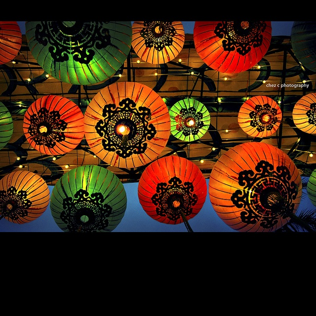 Chinese lanterns  Photo By: Cheryl Chan