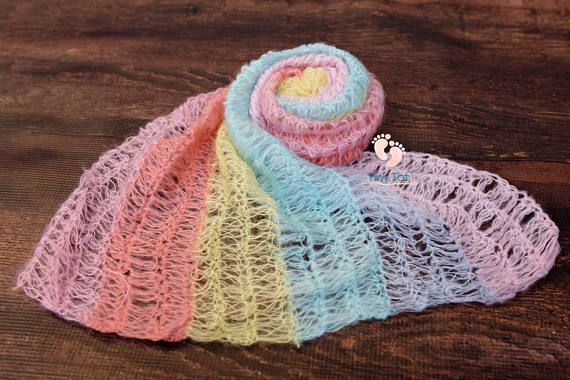 Rainbow Baby Mohair Knit Wraps for Newborn Photography. High Quality, Quick Shipping, Fantastic Shop! Tiny Tot Prop Shop ♥