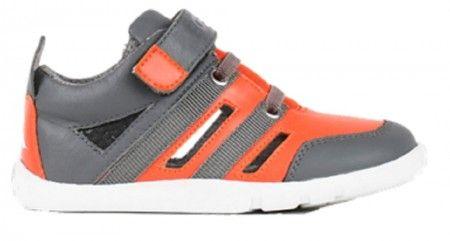 Bobux I-walk Hyper Flame Orange Shoes
