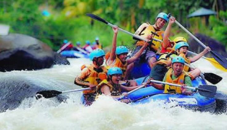 Sungai Air Berau Wisata Arung Jeram di Bengkulu - Bengkulu