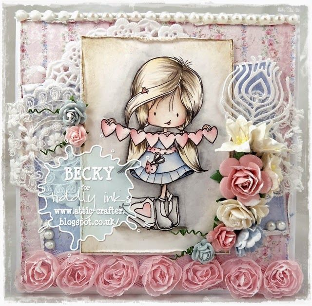 Cards By Becky: Wryn's Heart, New Tiddly Ink Release
