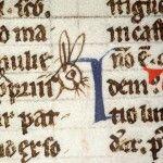 Coniglietto pasquale! Digestum vetus (Italia del Nord, fine XIII secolo) BM Amiens