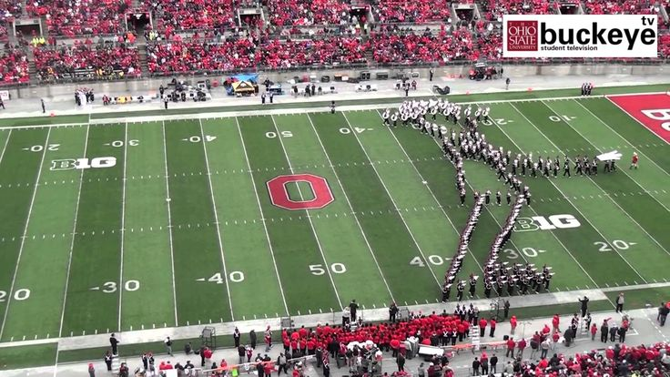 Ohio State Marching Band Performs a Fantastic Halftime Tribute to Michael Jackson