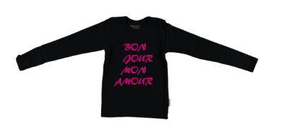 Meisjes shirt, Bon jour mon amour