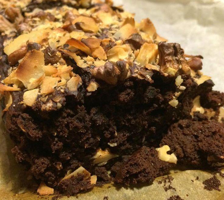 Sund brownie med protein