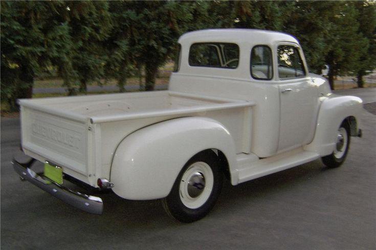 1954 CHEVROLET 3100 PICKUP - Rear 3/4 - 112804