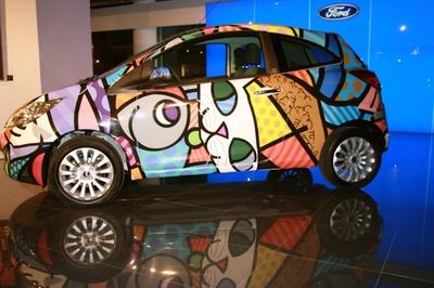 Ford Ka by Romero Britto  #britto