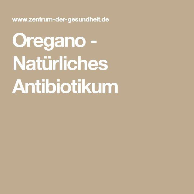 Oregano - Natürliches Antibiotikum
