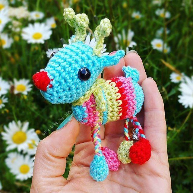 Crochet Mr Reindeer