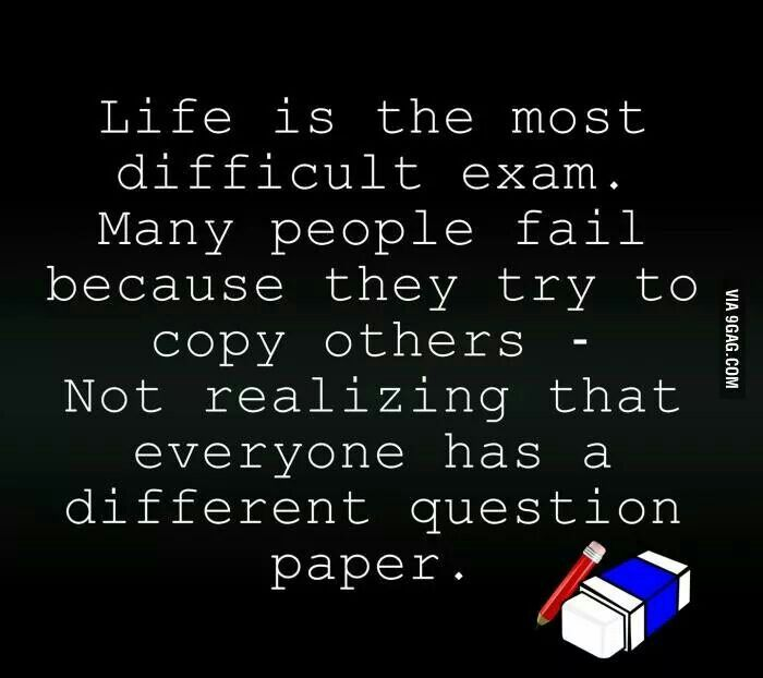 Essay on copying in exams quotes