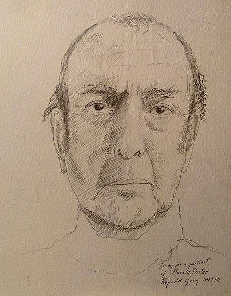 Reginald Gray, Study of Harold Pinter, 2007