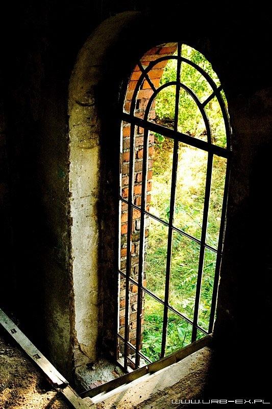 Abandoned church in morasku