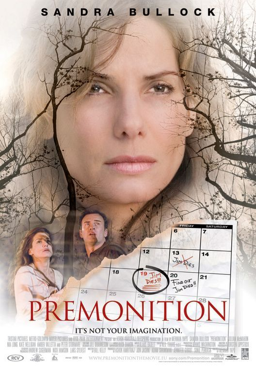It's not your imagination -PREMONITON - #premonition #sandrabullok