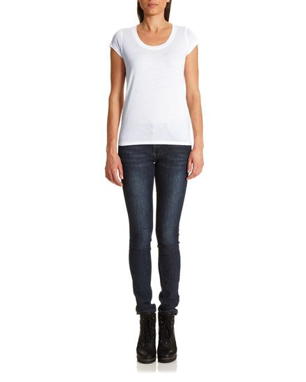 Pima Cotton T-Shirt #jigsawessential