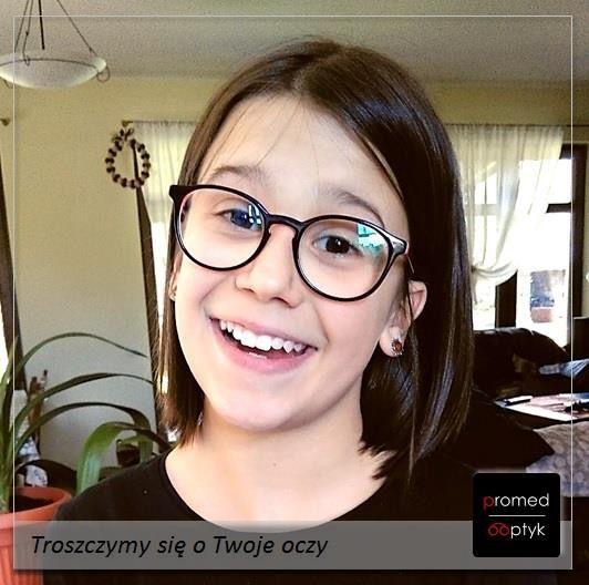 Na zdjęciu uśmiechnięta Ania. Dla nas to bezcenna nagroda :) Pozdrawiamy i dziękujemy za przesłane zdjęcie - a to przyszło aż z Bydgoszczy. #optyk #optometrysta #okulista #okulary #uśmiech #oczy #wzrok