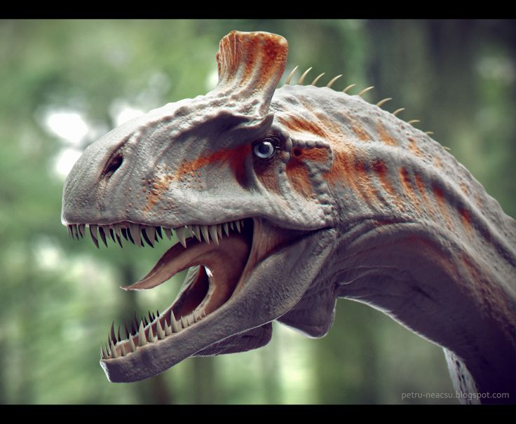 Cryolophosaurus by Shaka-zl