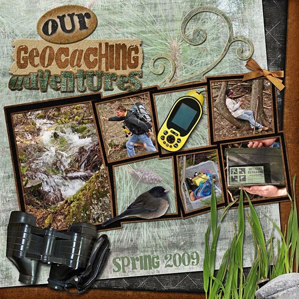 Our Geocaching Adventures - Scrapbook.com