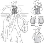 Western riding apparel patterns