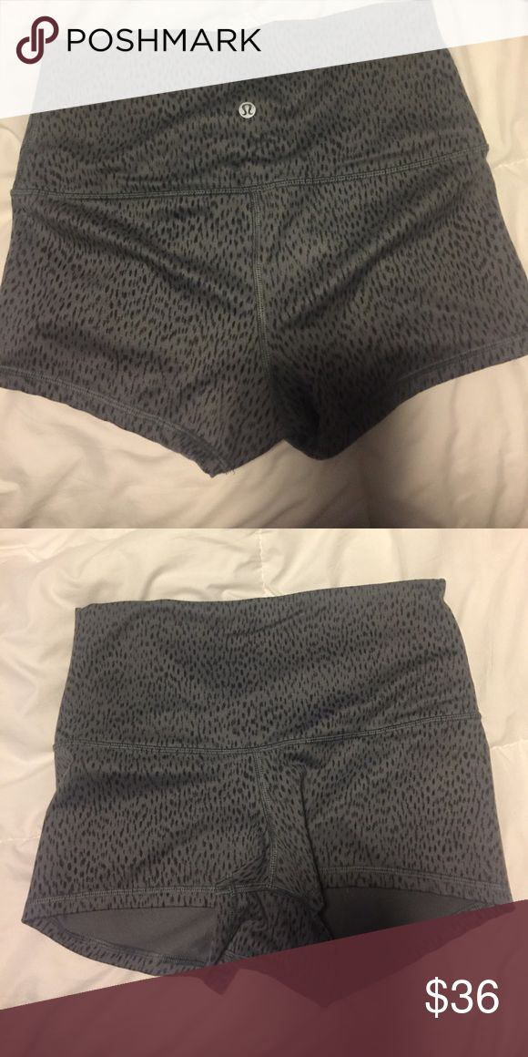 Lululemon spandex shorts Lululemon spandex shorts lululemon athletica Other