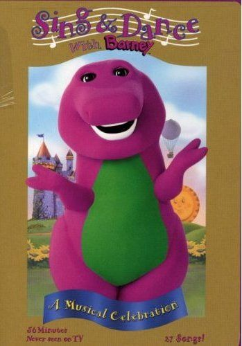 BARNEY I wont mention who of my children LOVED Barney, oh he wont look at my pinterest! Kevin had Barney everything! :)
