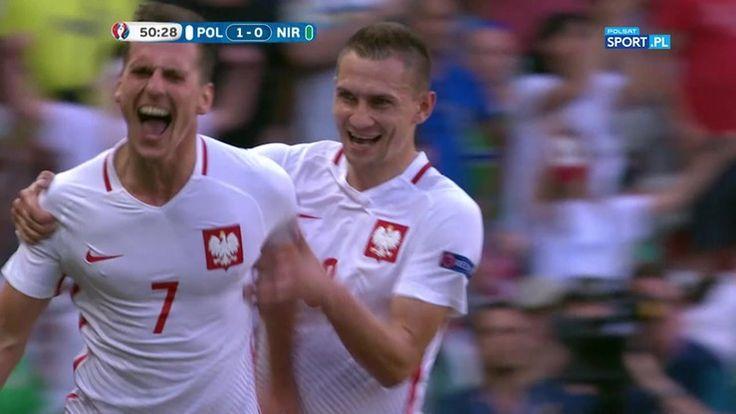 Polska - Irlandia Północna 1:0. Gol Milika!