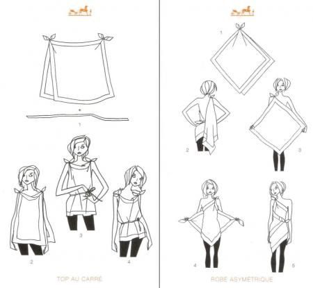 SCARF IDEAS This would be soooooo cute with a tank and shire scarves  | followpics.co