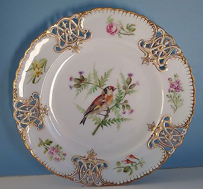 Incredible-Antique-MINTON-BIRD-PLATES-ca-1860s-Pierced- & 527 best P-Birds-04 (Angol) images on Pinterest | Bird Dishes and ...