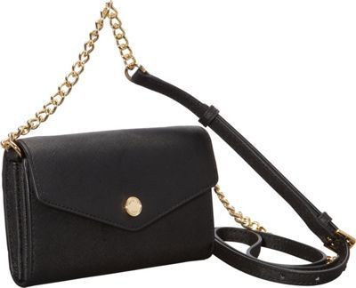 MICHAEL Michael Kors Electronics Phone Crossbody Black -#style #accessories #fashion #summertrends #styletips