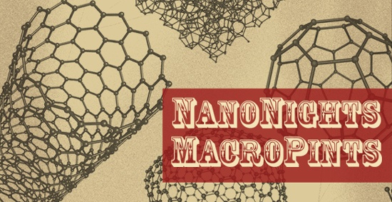 Museum of Life+Science in Durham, NC hosting NanoNights and MacroPints for guests 21+. Explore the world of the super small through hands-on exhibits while enjoying food trucks and macro pints. April 26 6-9PM